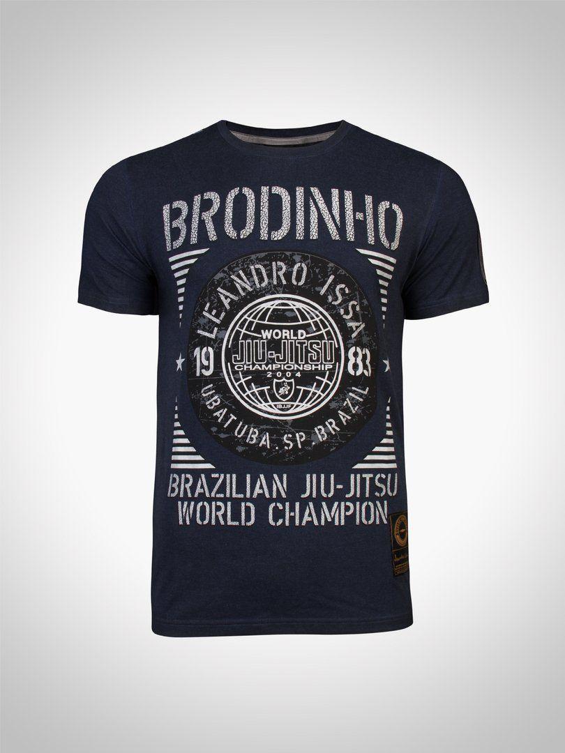 "aa8c4f07c LIMITED EDITION WORLD CHAMPION SIGNATURE T-SHIRT: LEANDRO ""BRODINHO' ISSA"
